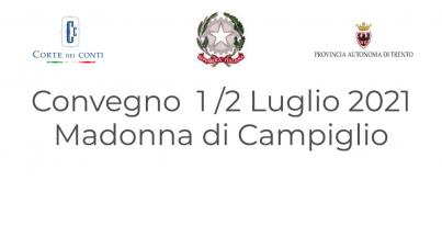 Madonna Di Campiglio 1 E 2 Luglio 20121 Servizi Enti Locali